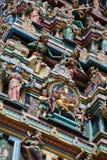 Kuala Lumpur Malaysia - le Sri Maha Mariamman Temple Dhevasthanam, temple hindou dans Chinatown photo stock