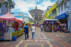 Kuala Lumpur, Malaysia - March 9, 2017: Petaling street market, in the heart of the Chinatown of the city is a popular Stock Image