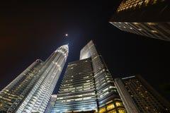 KUALA LUMPUR, MALAYSIA - MARCH 11 2014. Petronas. KUALA LUMPUR, MALAYSIA - MARCH 11 2014. Kuala Lumpur is the capital and the largest city of Malaysia Royalty Free Stock Photography