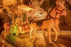 Ramayana Cave at batu Caves in Kuala Lumpur, Malaysia, Asia Stock Photography