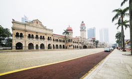KUALA LUMPUR MALAYSIA - 13 March, 2014. Sultan. Abdul Samad Building. Sultan Abdul Samad Building formerly housed the superior courts Royalty Free Stock Photography