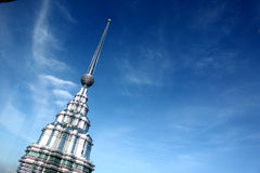KUALA LUMPUR MALAYSIA - mars 20 2017: Petronas tvillingbröder på mars 20 2017 i Kuala Lumpur, Malaysia Royaltyfri Bild