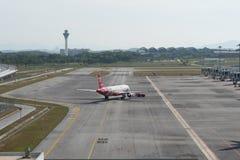 Kuala Lumpur Malaysia - mars 24th 2018: Terminal Kuala Lumpur för internationell flygplats Royaltyfria Foton