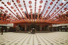 KUALA LUMPUR MALAYSIA - MARS 15 2014 Thean Hou tempel i Kuala Lumpur Malaysia arkivbilder