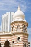 Kuala Lumpur malaysia merdekafyrkant arkivfoto