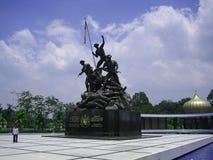 Kuala Lumpur malaysia monumentnational Arkivfoto