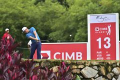 CIMB CLASSIC 2018 royalty free stock images