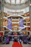 Kuala Lumpur, Malaysia - October 4, 2013:Suria Shopping Mall. Suria KLCC is the luxury shopping locate at lower floor of Petronas Towers Royalty Free Stock Image