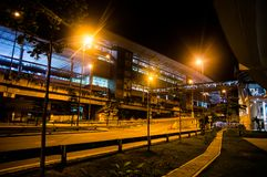 KUALA LUMPUR/MALAYSIA - OCTOBER 12 2013: Terminal Bersepadu Sela Stock Images