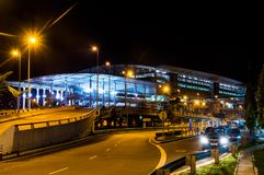 KUALA LUMPUR /MALAYSIA - 12 OTTOBRE 2013: Bersepadu terminale Sela Immagini Stock Libere da Diritti