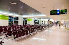 KUALA LUMPUR /MALAYSIA - 12 OTTOBRE 2013: Corridoio di partenza di Termi Immagine Stock Libera da Diritti