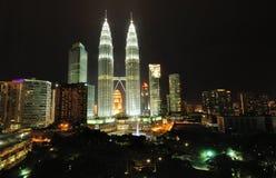 Kuala Lumpur, Malaysia. Petronas Twin Towers. Stock Images