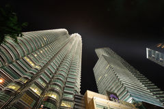 Kuala Lumpur, Malaysia. Petronas Twin Towers. Stock Photography