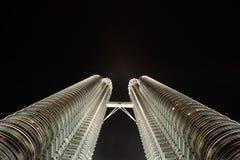 Kuala Lumpur, Malaysia. Petronas Twin Towers. Royalty Free Stock Photos