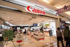 KUALA LUMPUR, MALAYSIA - SEP 27: canon shop in Suria Shopping Ma Stock Photo