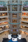 KUALA LUMPUR, MALAYSIA - SEP 27: Glass elevator in Suria Shoppin Stock Photography