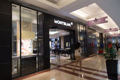 KUALA LUMPUR, MALAYSIA - SEP 27: MONTBLANC shop in Suria Shoppin Royalty Free Stock Photo