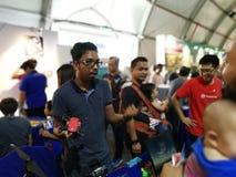 Kuala Lumpur Malaysia - 16 September 2017 mydigitalmaker är en gemensam allmänhet-privat händelse Royaltyfri Foto