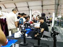 Kuala Lumpur, Malaysia - 16. September 2017 mydigitalmaker ist ein gemeinsames öffentlich-privates Ereignis Stockfotografie