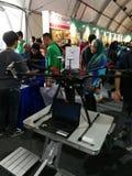 Kuala Lumpur, Malaysia - 16. September 2017 mydigitalmaker ist ein gemeinsames öffentlich-privates Ereignis Lizenzfreies Stockbild