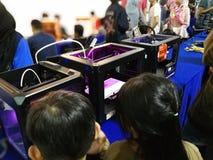 Kuala Lumpur, Malaysia - 16. September 2017 mydigitalmaker ist ein gemeinsames öffentlich-privates Ereignis Lizenzfreie Stockfotos