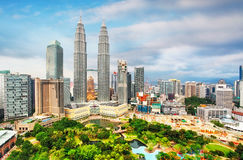 Kuala Lumpur, Malaysia skyline. Stock Images