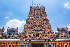 Kuala Lumpur Malaysia - Sri Maha Mariamman Temple Dhevasthanam, fotografia stock