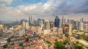 Kuala Lumpur Malaysia Time Lapse almacen de video