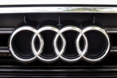 KUALA LUMPUR, MALEISIË - Augustus 12, 2017: Audi is een Duitse autom Stock Fotografie