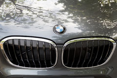 KUALA LUMPUR, MALEISIË - Augustus 12, 2017: BMW of Bayerische Moto Royalty-vrije Stock Afbeeldingen