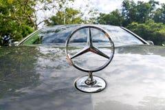 KUALA LUMPUR, MALEISIË - Augustus 12, 2017: Mercedes-Benz is een glo Stock Foto's