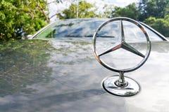 KUALA LUMPUR, MALEISIË - Augustus 12, 2017: Mercedes-Benz is een glo Stock Fotografie