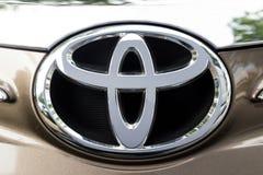 KUALA LUMPUR, MALEISIË - Augustus 12, 2017: Toyota-Motor Corporati Royalty-vrije Stock Foto