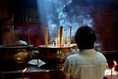 Kuala Lumpur, Maleisië: De Tempel van Si Ya van Sze van de zonde Royalty-vrije Stock Foto