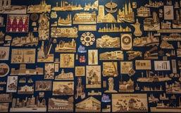 KUALA LUMPUR, MALEISIË - DECEMBER 19, 2016: collectibles en giften royalty-vrije stock foto