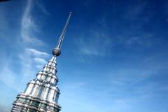 KUALA LUMPUR, MALEISIË - Maart 20 2017: Petronas Tweelingtorens op 20 Maart 2017 in Kuala Lumpur, Maleisië Royalty-vrije Stock Afbeelding