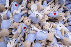 KUALA LUMPUR, MALEISIË 21 NOVEMBER, 2015: Pluchespeelgoed in IKEA-opslag, Damansara, Kuala Lumpur royalty-vrije stock afbeeldingen