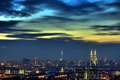 Kuala Lumpur Malesia fotografia stock