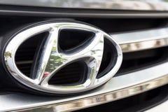 KUALA LUMPUR, MALESIA - 12 agosto 2017: Il motore Grou di Hyundai immagini stock