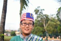 Kuala Lumpur, Malesia 3 agosto 2017: Studenti primari malesi Immagine Stock Libera da Diritti