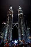 KUALA LUMPUR, MALESIA - 10 DESEMBER 2014: Torri gemelle di Petronas Immagini Stock