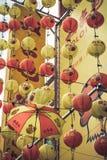 Kuala Lumpur, Malesia, dicembre 18,2013: Decorat cinese del nuovo anno Immagini Stock Libere da Diritti
