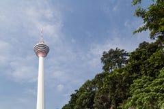 KUALA LUMPUR, MALESIA, IL 16 SETTEMBRE 2017: La torre di chilolitro è il sev Fotografia Stock Libera da Diritti
