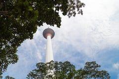 KUALA LUMPUR, MALESIA, IL 16 SETTEMBRE 2017: La torre di chilolitro è il sev Immagini Stock