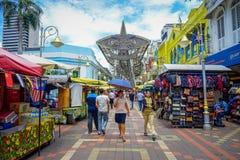Kuala Lumpur, Malesia - 9 marzo 2017: Il mercato di strada di Petaling, nel cuore della Chinatown della città è un popolare Fotografia Stock