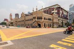 Kuala Lumpur, Malesia - 5 marzo 2019: Via vicino al fiume di vita nel chilolitro immagini stock libere da diritti