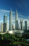 Kuala Lumpur, Malesia. Torri gemelle di Petronas. Fotografie Stock