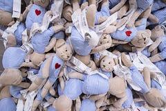 KUALA LUMPUR, MALEZJA LISTOPAD 21, 2015: Pluszowe zabawki w IKEA sklepie, Damansara, Kuala Lumpur Obrazy Royalty Free
