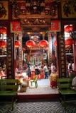 KUALA LUMPUR, MALEZJA LUTY 01, 2018: Grzechu Sze Si Ya świątynia Obraz Royalty Free