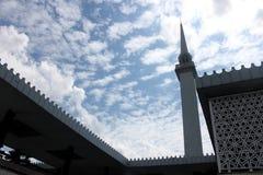 KUALA LUMPUR MALEZJA, LUTY, - 01, 2017: Krajowy meczet Malezja w Kuala Lumpur Zdjęcia Stock